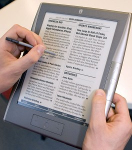 e-book reader Irex for Barnes and Noble