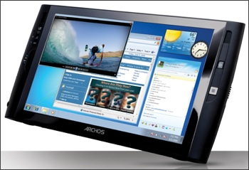 "Archos 9"" tablet"