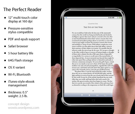 iPhone + Mac = iTablet: the Ideal eBook Reader?